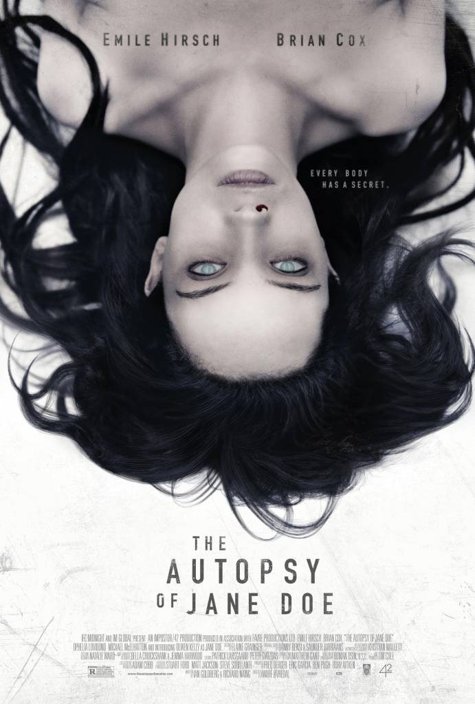 The Autopsy of Jane Doe / Аутопсията на Джейн Доу (2016)