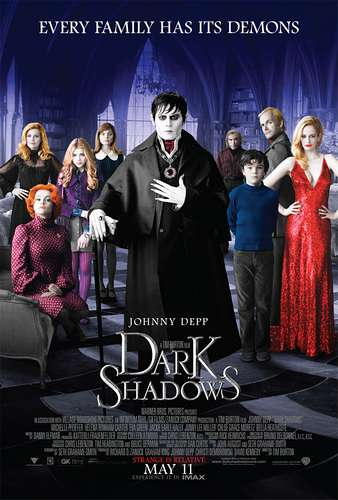 Dark Shadows / Тъмни Сенки (2012)