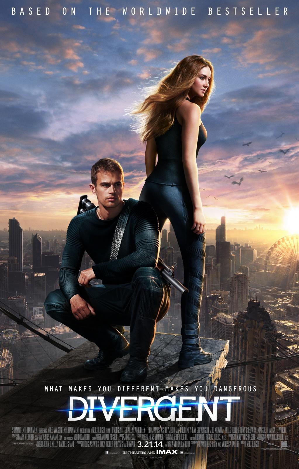 Divergent / Дивергенти (2014)