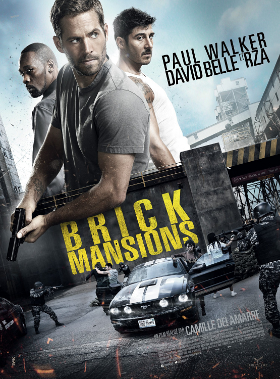 Brick Mansions / Престъпно предградие (2014)