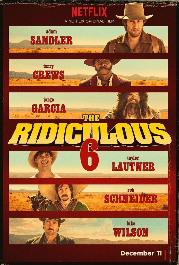 The Ridiculous 6 / Нелепата шесторка (2015)